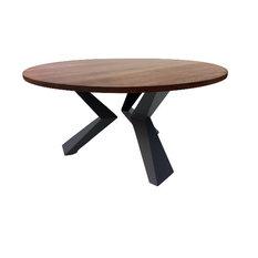 round walnut dining table. Studio 1212 - Contemporary Round Solid Walnut Dining Table Tables
