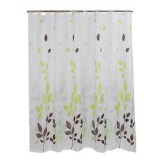Vine Polyester Waterproof Shower Curtain Bathroom Curtain Bathroom Decor