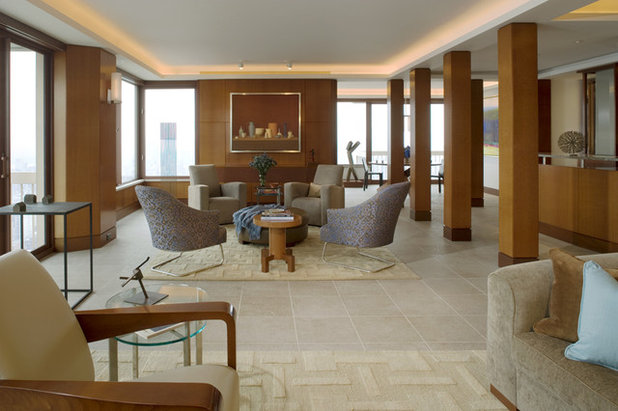 Contemporary Living Room by Elliott Kaufman - Could Your Living Room Be Better Without A Sofa?