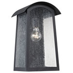Cornerstone - Prince Street 1-Light Exterior Wall Lamp, Matte Black - Number of Bulbs: 1