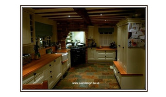 Sam Moore kitchen redesign in an Old property