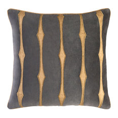Graphic Stripe - 22x22x5 Pillow, Polyester Fill