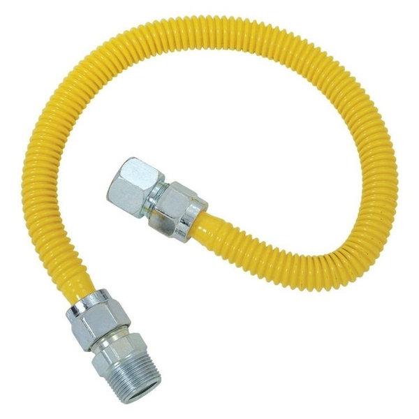 Brasscraft Cssc21-36-P Sc Series Gas Appliance Connector, 36''