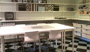 Basement Craft Room-After