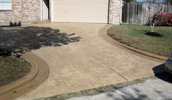 Driveway Stamped Overlay