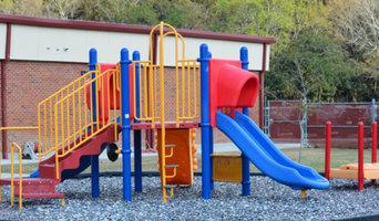 Ascension Parish School District Playground Rubber Mulch Install