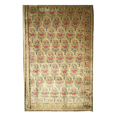 "Agra Antique Rug Oriental Rug 20'1""x14'1"", India Hand-Knotted Classic"