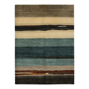 Lombard 6.1 Rug, Blue and Natural, 140x200 cm