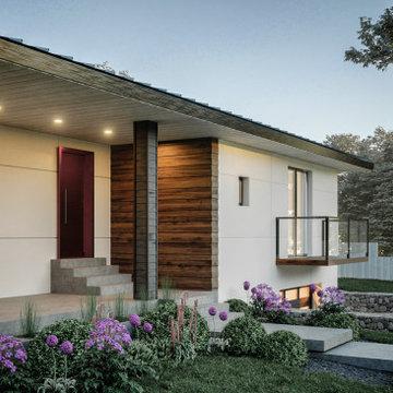 Exterior Design: From Spanish to Modern Scandinavian: Impressive Transformation!