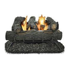 "Kozy World Vent-Free Gas Log Set, 24"", 30,000 BTU's"