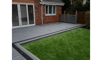 Composite Decking and Garden Rooms