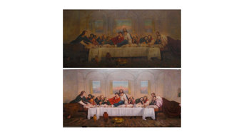 The Conservation of the Last Supper  by James Archer RSA