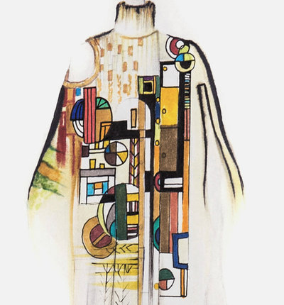 See Fashion Designs Inspired by Frank Lloyd Wright's Architecture