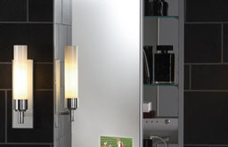 Robern  M Series Flat Plain Mirror Cabinet with Integrated TV