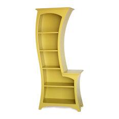 Lemon Love Bookcase, Yellow