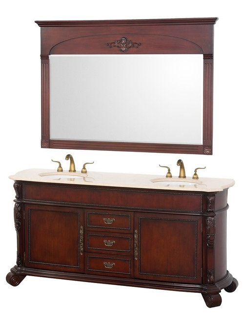 Antique style bathroom vanities for Antique bathroom vanity units