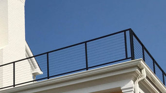 Modern Cable Outdoor Railings