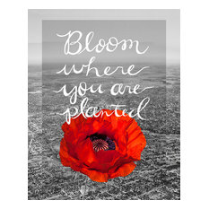 """""""Bloom Where You Are Planted"""" Limited Edition Fine Art Print, 11""""X14"""""""
