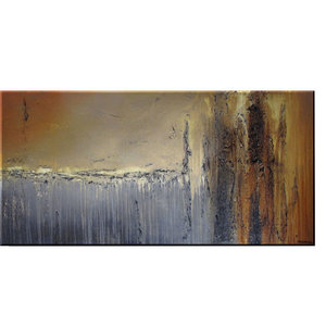 """New World"" Abstract Modern Canvas Painting Contemporary Fine Art Giclee"