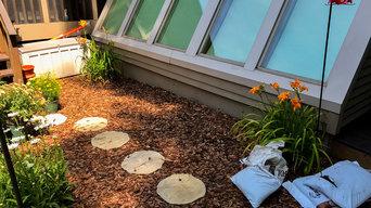 Butterfly Garden Installation