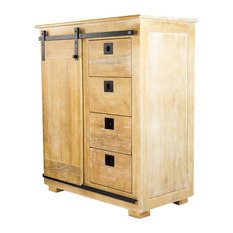 rustic accent chests and cabinets | houzz