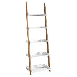Modern 5-Tier Ladder Display Shelf