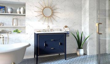 Classic Blue in the Bath