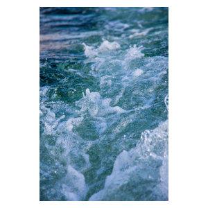 Water Foam Fine Art Print, 30x40 cm