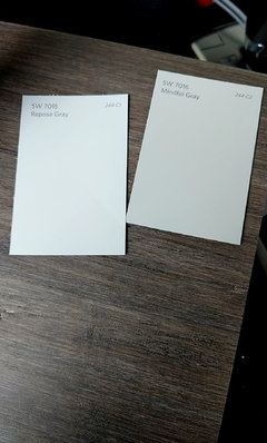 Another Post About Gray Paint Sherwin Williams Mindful Vs