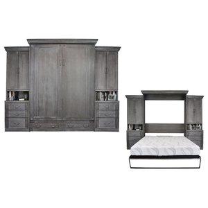 Stanley Twin Cabinet Bed Cherry Oak Murphy Bed By