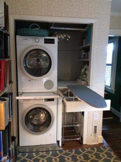 Traditional Laundry Room by Dickinson Interiors