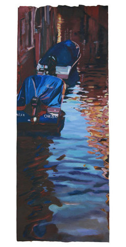 Light on the Canal - Venice - AVAILABLE - Paintings