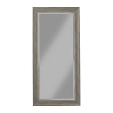 Martin Svensson Home - Antique Farmhouse Full Length Leaner Mirror, Gray - Floor Mirrors