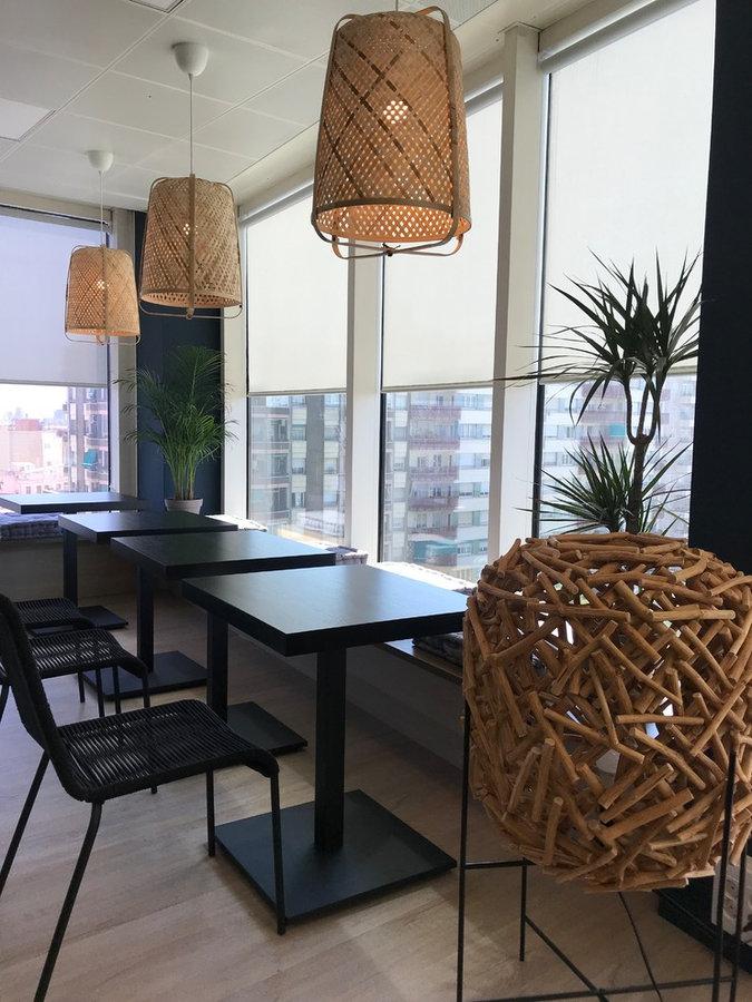 Barcelona Top floor restaurant