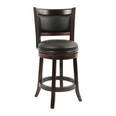 boraam industries inc augusta swivel stool cappuccino bar stools and counter