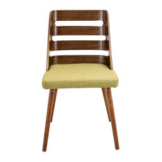 Lumisource Trevi Dining Chair Green