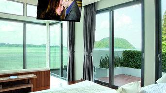 Maior Flip® 90 - Staffe TV a soffitto a scomparsa