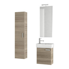 "18"" Larch Canapa Bathroom Vanity Set"