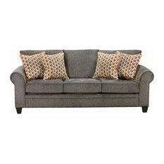 Sofa, Pewter Finish