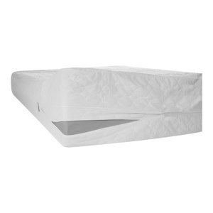 Bed Bug and Dust Mite Cotton Mattress Protector, Twin XL
