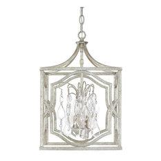 Antique Silver Pendant Lights Houzz