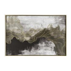 Golden Path Canvas Art