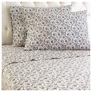Jacobean Micro Flannel Sheet Set, California King