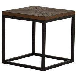 Industrial Side Tables And End Tables by Steve Silver