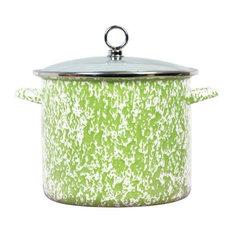 Reston Lloyd Lime Marble, 8 qt. Stock Pot