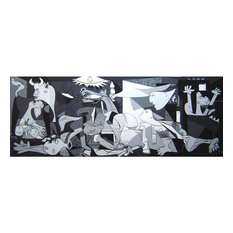 """""""Guernica"""" Canvas Painting by Pablo Picasso, 180x80 cm"""