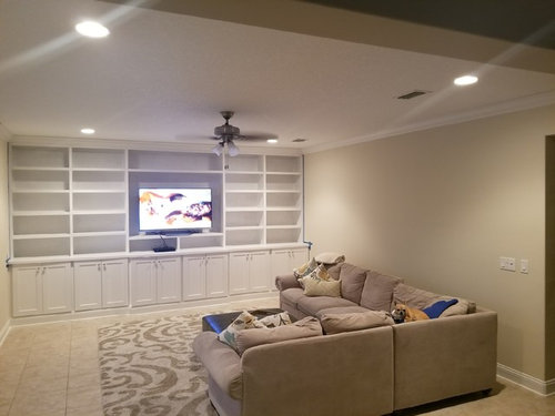 Large empty wall need decor ideas