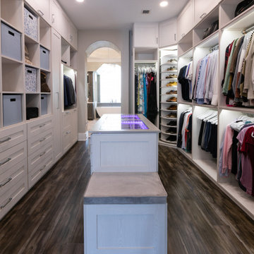 Before and After Master Closet in Davie - Florida