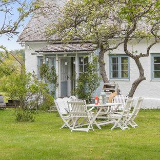 Foto på en nordisk trädgård