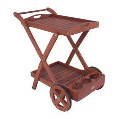 Toledo Outdoor Bar Cart